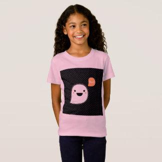 Camiseta Tshirt do vintage do design das meninas com
