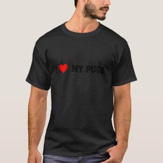 Camiseta tshirt dos amigos do pug