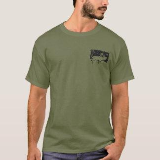 Camiseta Tshirt dos animais selvagens da caça do grande