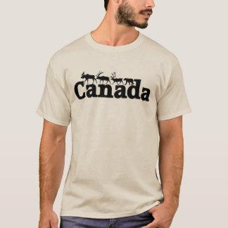 Camiseta Tshirt dos animais selvagens de Canadá