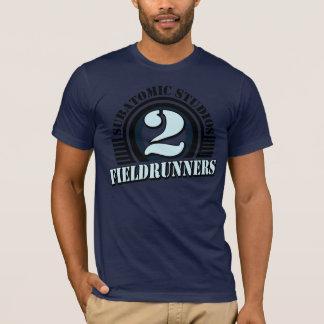 Camiseta Tshirt dos azuis marinhos de Fieldrunners 2