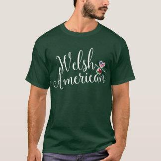 Camiseta Tshirt dos corações de Entwinted do americano de