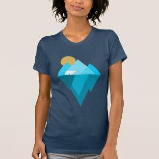 Camiseta Tshirt dos fatos das alterações climáticas do urso
