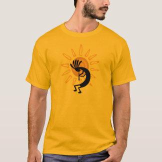 Camiseta Tshirt dos homens do ouro de Kokopelli