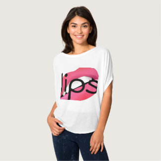Camiseta tshirt dos lábios