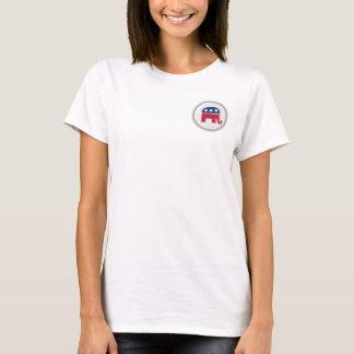 Camiseta TShirt dos republicanos da faculdade das senhoras
