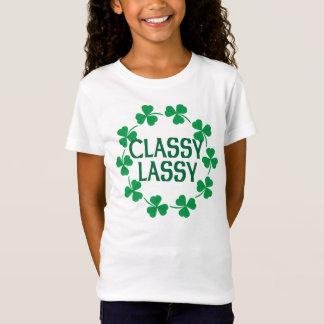 Camiseta Tshirt elegante dos trevos de Lassy