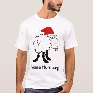 Camiseta tshirt engraçado da farsa do bah dos carneiros do