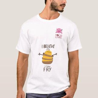 Camiseta Tshirt engraçado das batatas fritas