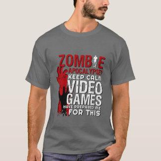 Camiseta Tshirt engraçado do Grunge do apocalipse do zombi