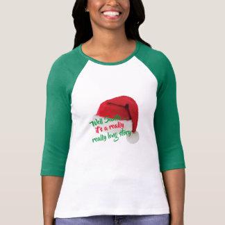 Camiseta tshirt engraçado impertinente do Natal das