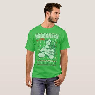 Camiseta Tshirt feio da camisola do Natal do Roughneck