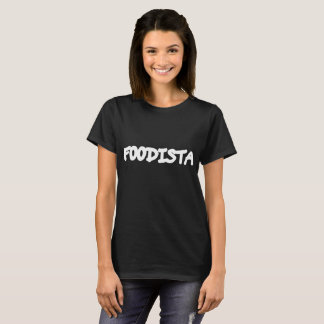 Camiseta Tshirt FOODISTA Branco - Mulher
