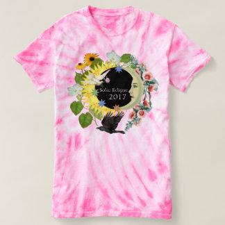 Camiseta TShirt Franklin do TieDye das mulheres do eclipse