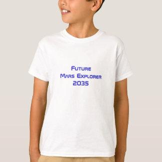 Camiseta Tshirt futuro da viagem espacial do explorador do