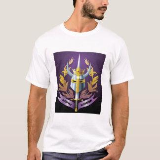 """Camiseta TShirt """"gajo """" do logotipo do guerreiro de Whipple"""