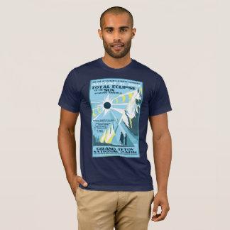 Camiseta Tshirt grande do eclipse solar de parque nacional