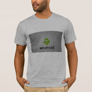 Camiseta Tshirt impresso Android