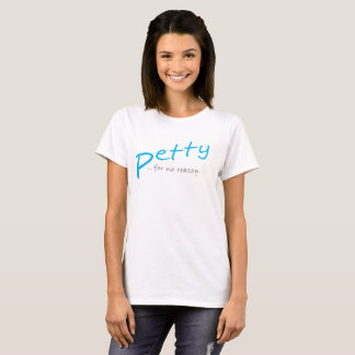 Camiseta TShirt inclinado mesquinho LightBlue