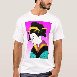 Camiseta Tshirt japonês da mulher