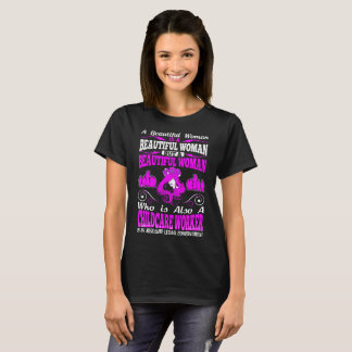 Camiseta Tshirt letal do trabalhador bonito da puericultura