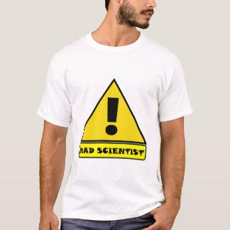 Camiseta Tshirt louco do cientista
