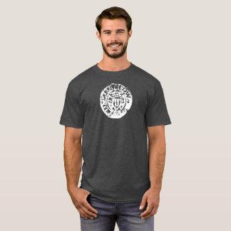 Camiseta Tshirt martelado da moeda, metal perfeito que