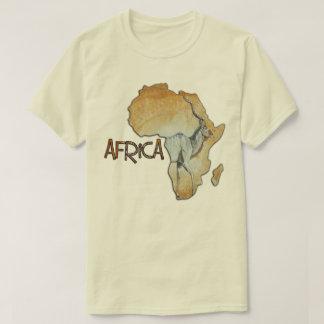 Camiseta Tshirt nenhuns do mapa de África 17