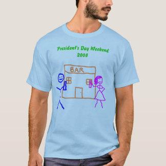 Camiseta Tshirt, o Dia Fim de semana 2008 do presidente