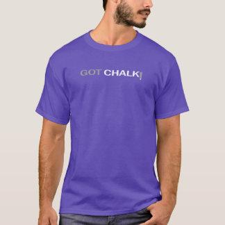 Camiseta TShirt obtido do giz