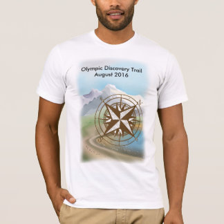 Camiseta Tshirt olímpico do passeio da fuga da descoberta