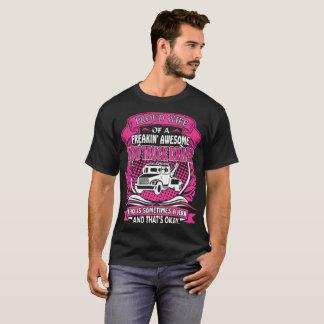 Camiseta Tshirt orgulhoso do empurrão do camionista do