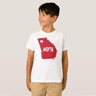 Camiseta Tshirt original para homens, W da casa do estado