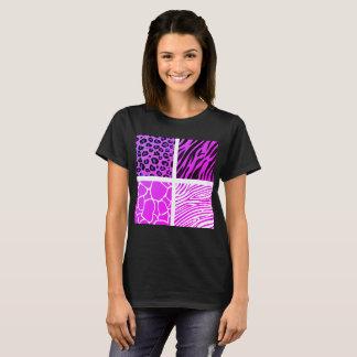 Camiseta Tshirt para a senhora com teste padrão de África