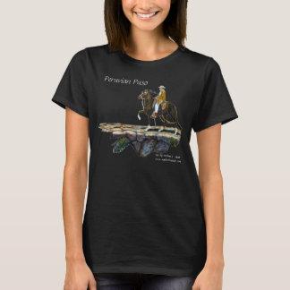 Camiseta Tshirt, Paso peruano, senhora louca do cavalo