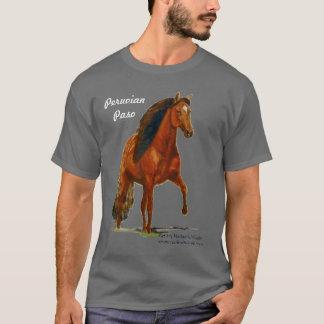 Camiseta Tshirt, Paso peruano vermelho, senhora louca do