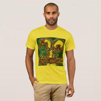 Camiseta Tshirt preto de Beatles