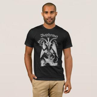 Camiseta Tshirt preto do Baphomet dos homens