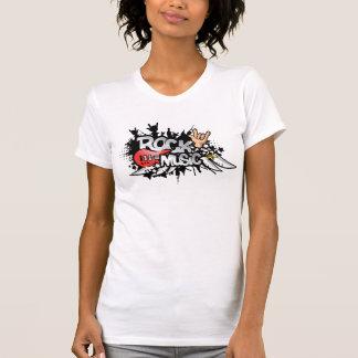 Camiseta tshirt retro da música rock