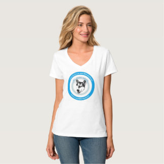 Camiseta Tshirt ronco do logotipo do salvamento do abrigo