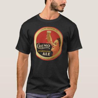 Camiseta Tshirt Sparkling da cerveja inglesa de Cremo