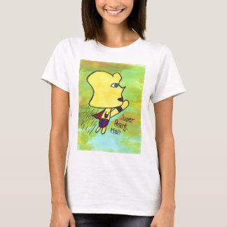 Camiseta Tshirt super do homem do amendoim