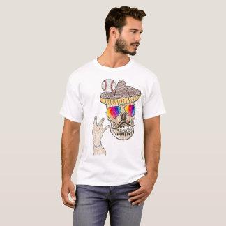 Camiseta TShirt temático do basebol Funky