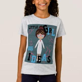 Camiseta Tshirt traseiro GRANDE do doutor Adição NOME das