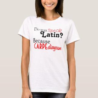 Camiseta Tshirt: Você fala o latino?