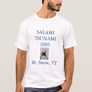 Camiseta Tsunami 2005 do salame