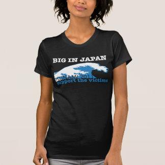 Camiseta Tsunami de Japão - apoie as vítimas