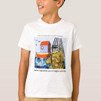 Camiseta Tuba Golfinho-Segura engraçada