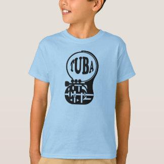 Camiseta TUBA, jogador da tuba