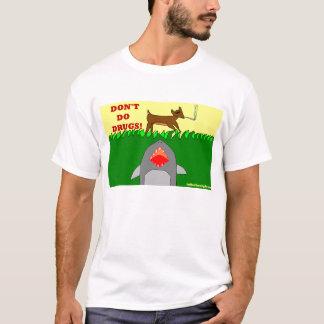 Camiseta tubarão da terra